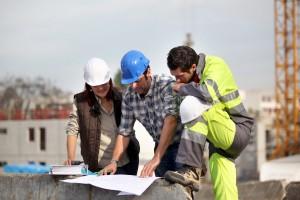 Logo Chef de chantier Paysager