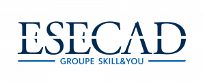 Logo ESECAD - Ecole de commerce et web à distance