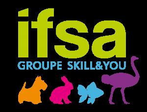 Logo IFSA - Institut de Formation Soins animaliers
