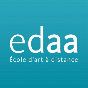 Logo EDAA - Ecole d'Arts appliqués à distance