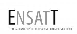 Logo ENSATT - Lyon  Ecole Nationale  Supérieure  des Arts et Techniques du Théâtre